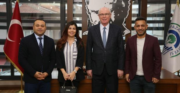Eskişehir AB Derneği'nden Başkan Kurt'a ziyaret