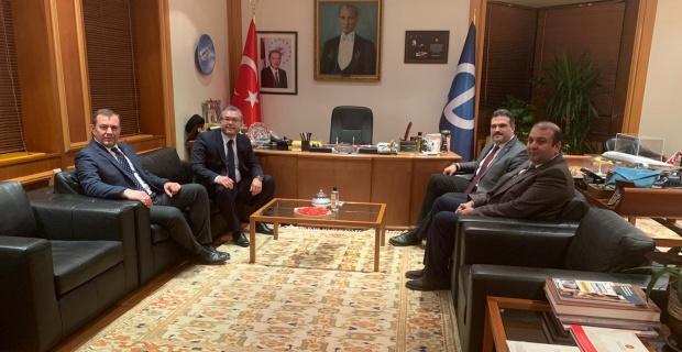 Eskişehirspor'dan Çomaklı'ya ziyaret
