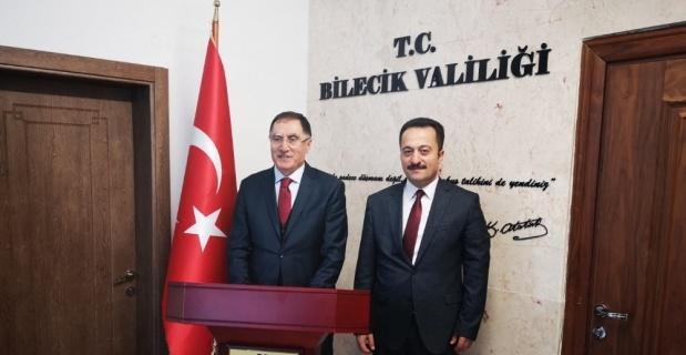 Kamu Başdenetçisi Şeref Malkoç Bilecik'te