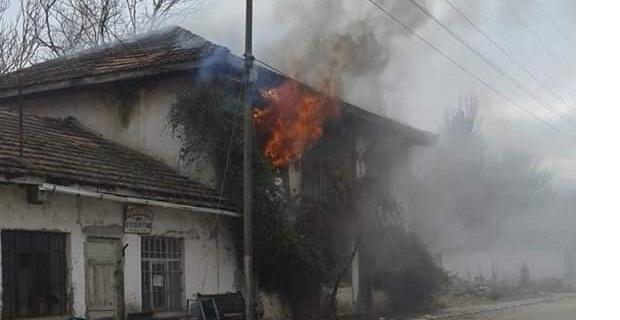 Korkunç yangında bir kişi öldü