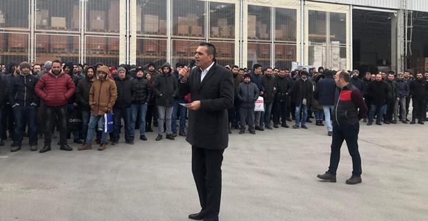 Metal işçileri eyleme başladı