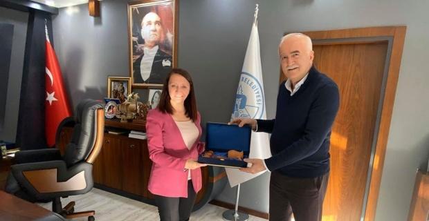 Müdür Yardımcısı Ersoy'dan Başkan Tekin'e ziyaret