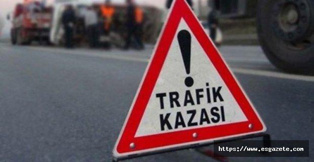 Şarampole devrilen araçta 5 genç yaralandı