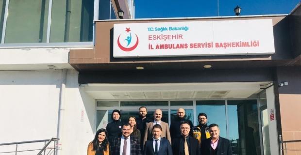 Acil Sağlık Hizmetleri yatırımlarından Eskişehir büyük pay alacak