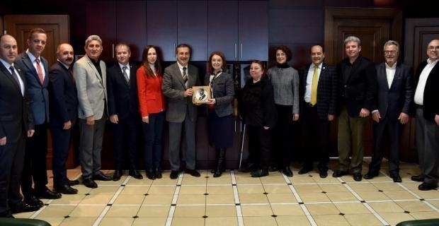 Kent Konseyinden Başkan Ataç'a ziyaret