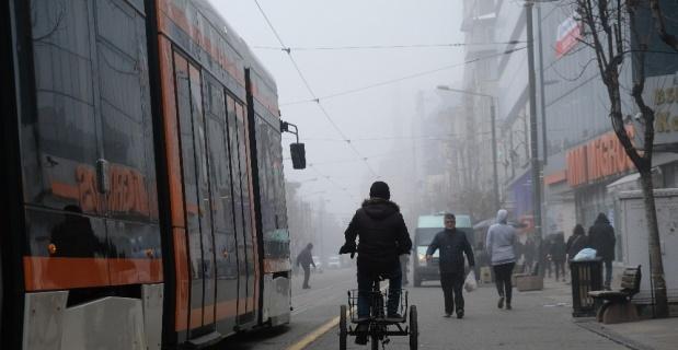 Eskişehir'de yoğun sis