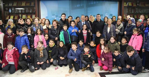 İstanbullu çocuklar Büyükerşen ile buluştu