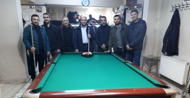 Konya Yunak Kurtuşağı Derneği'nden bilardo turnuvası