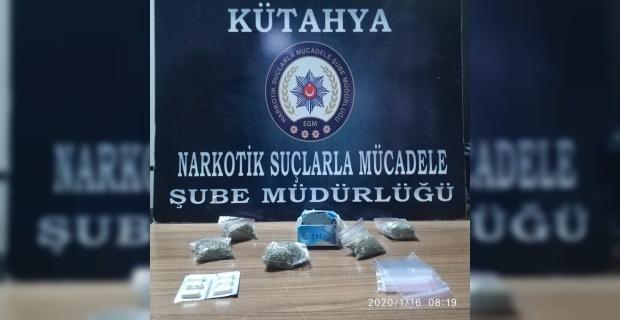 Kütahya'da uyuşturucu ticaretine 1 tutuklama