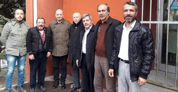 MHP Odunpazarı'ndan Muhtarlara ziyaret