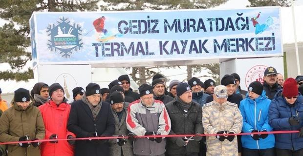 Murat Dağı'nda kayak sezonu törenle açıldı