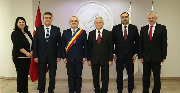Romanya ile karşılıklı ticaret görüşüldü