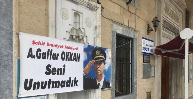 Şehit Emniyet Müdürü Ali Gaffar Okkan unutulmadı