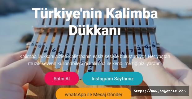 Türkiye'nin en Büyük Kalimba İthalatçısı Kalimba Dükkanı