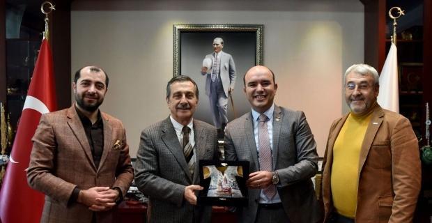 TÜRSAB'dan Başkan Ataç'a ziyaret