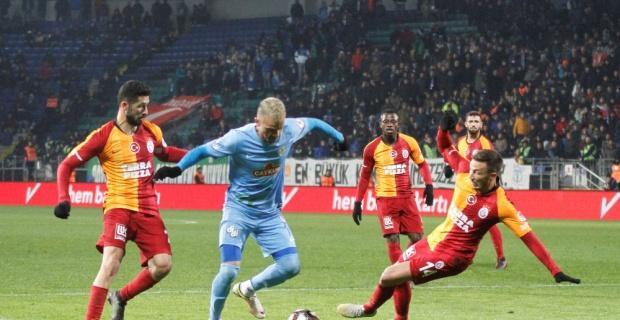 Çaykur Rizespor: 1 - Galatasaray: 1