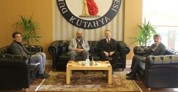 Başkan Ceyhun'dan Rektör Uysal'a nezaket ziyareti