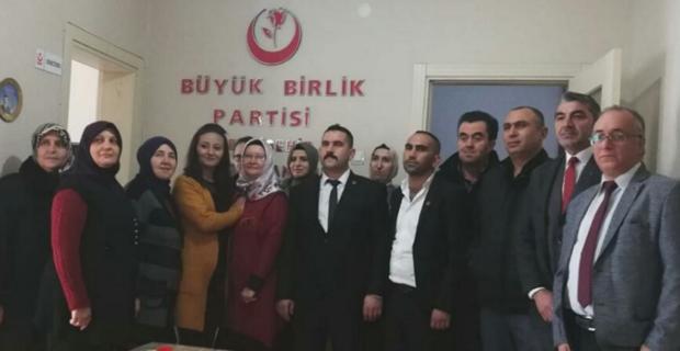 BBP Odunpazarı'nda Pektaş başkan oldu