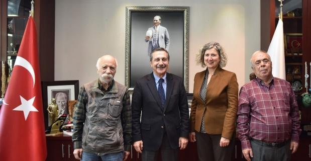 Emekli-Sen'den Başkan Ataç'a ziyaret
