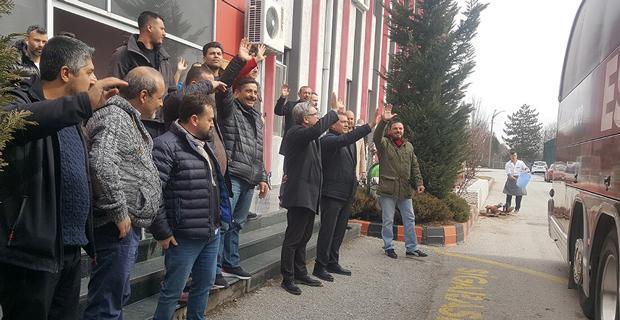ES ES İstanbul'a gitti