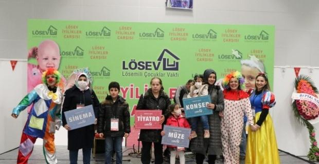 """Eskişehir LÖSEV """"İyilikler Çarşısı"""" açacak"""