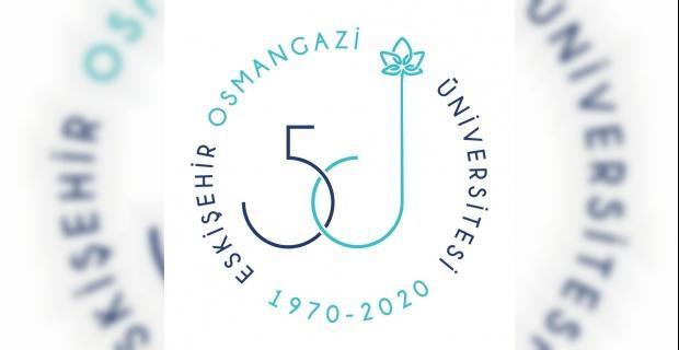 ESOGÜ'den 50'inci yıla özel logo