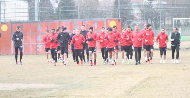 Fatih Karagümrük maçı hazırlıkları başladı