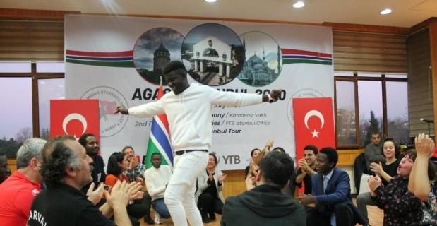 Gambiyalı öğrenciler Türkiye'de buluştu
