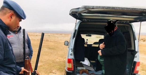 Jandarma ekiplerinden kaçak avcılara suçüstü