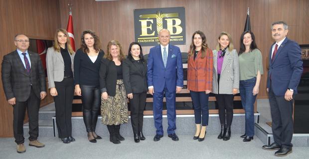 Kadın Girişimciler Kurulu'ndan ETB'ye ziyaret