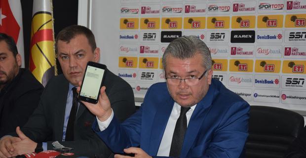 Kazım Kurt'tan Eskişehirspor'a destek