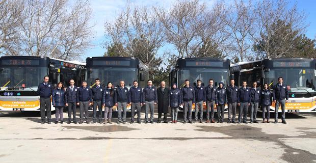 Ulaşım filosuna 60 yeni otobüs