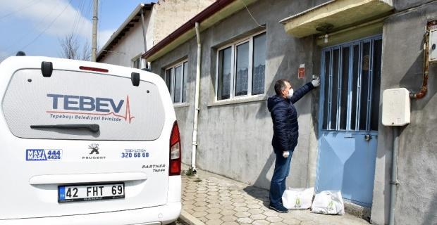Korona virüse karşı TEBEV desteği