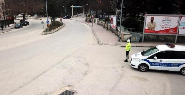 Bilecik sokakları bomboş kaldı