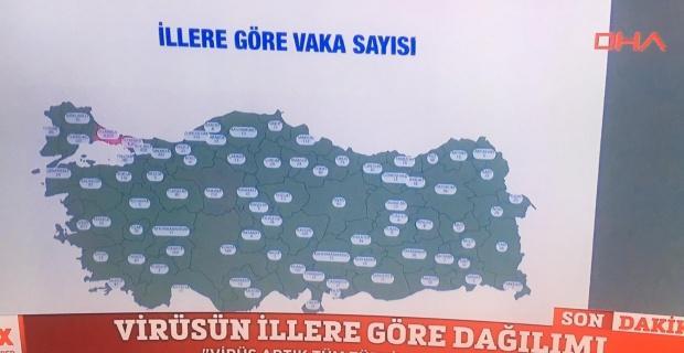 Eskişehir'de kaç vaka var