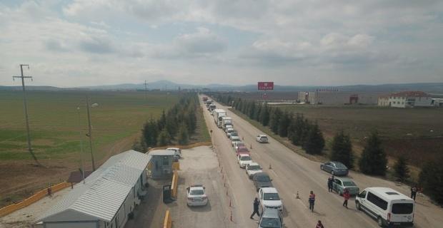 Eskişehir'e giriş çıkış yasaklandı