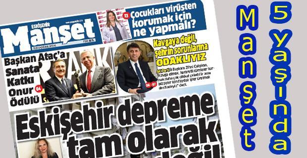 Manşet Gazetesi 5 yaşında