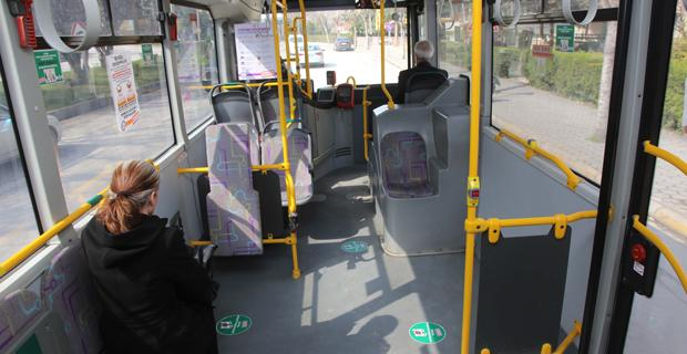 Otobüslerde yeşil bant uygulaması