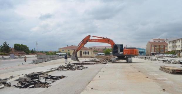 Beylikova'da yeni inşaatlar başladı