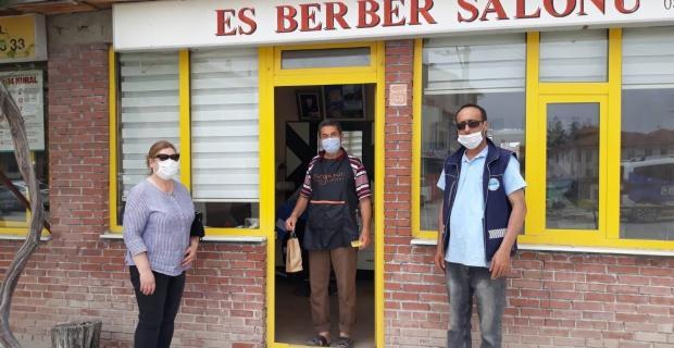 Büyükşehir'den maske ve kolonya