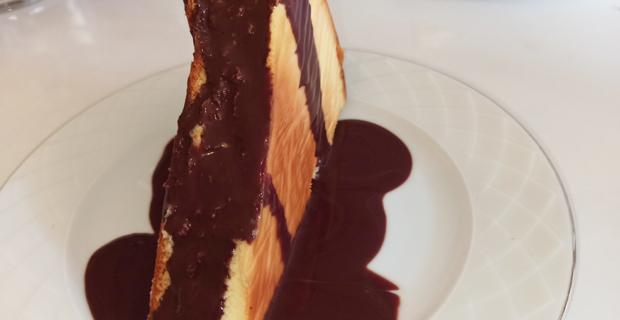 Kolay San Sebastian cheese cake
