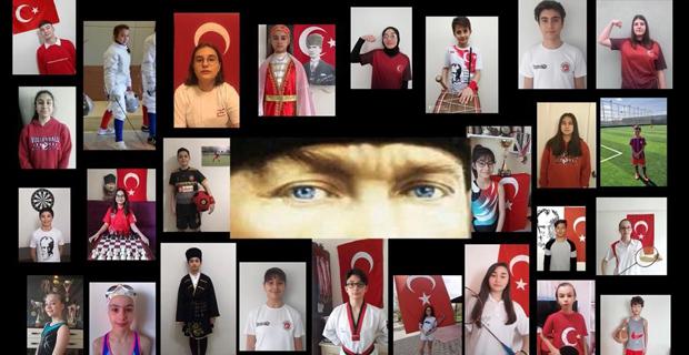 Şampiyonlardan '19 Mayıs' videosu