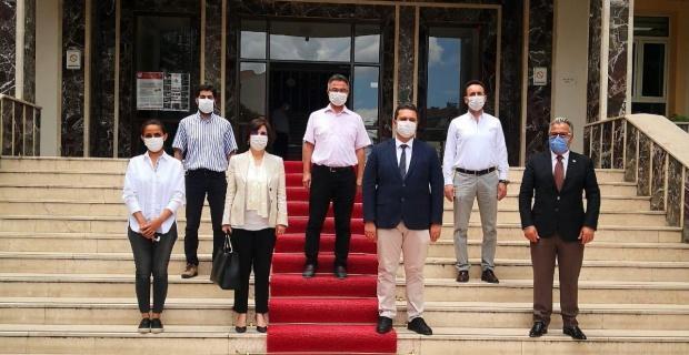 CHP'den sağlık il müdürlüğüne ziyaret