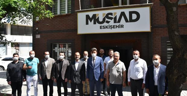 Başkan Çalışkan'dan MÜSİAD'a ziyaret