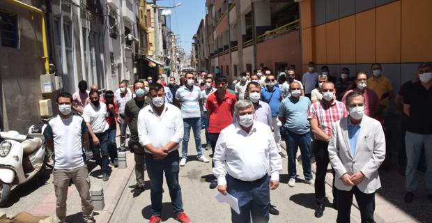 Görevden alınan Akyazı'ya Ataç'dan destek