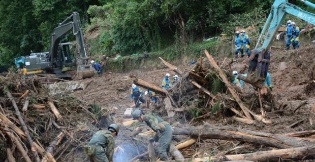 Japonya'daki sel felaketinde ölü sayısı 52'ye yükseldi