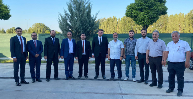 Karacan'a hayırlı olsun ziyareti