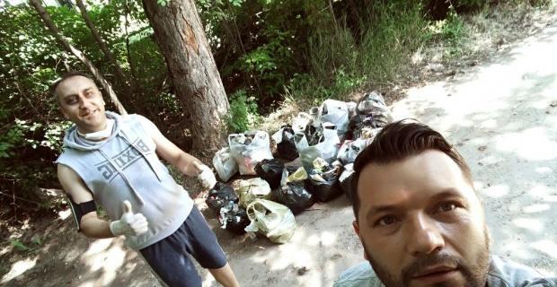 Örnek arkadaşlar Türkiye'nin akciğerlerini temizliyor