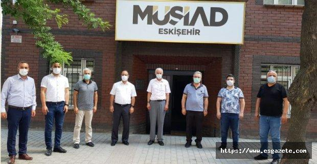 Kabukçuoğlu'ndan MÜSİAD' a ziyaret