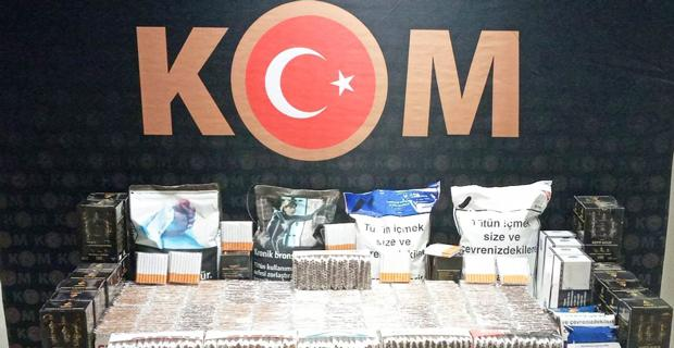 Kaçak sigara üreticilerine emniyet darbesi
